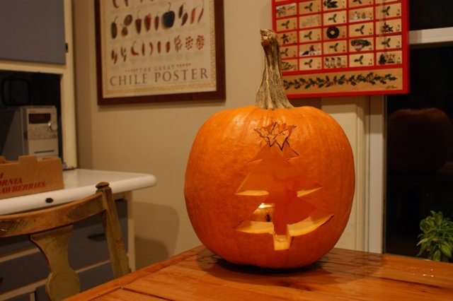 Winter time pumpkin