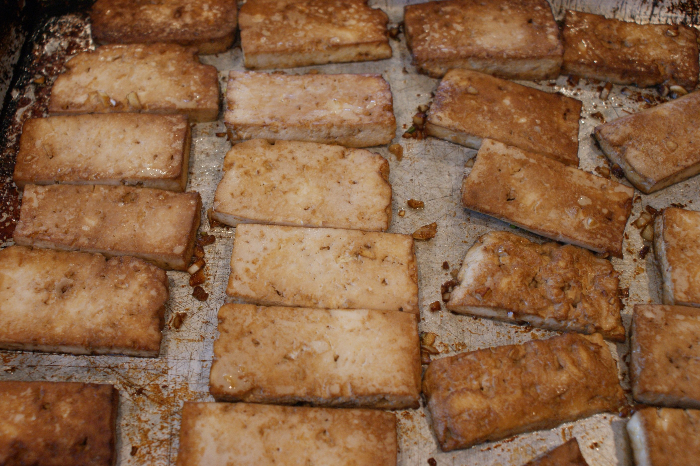Roasted Tofu...yom