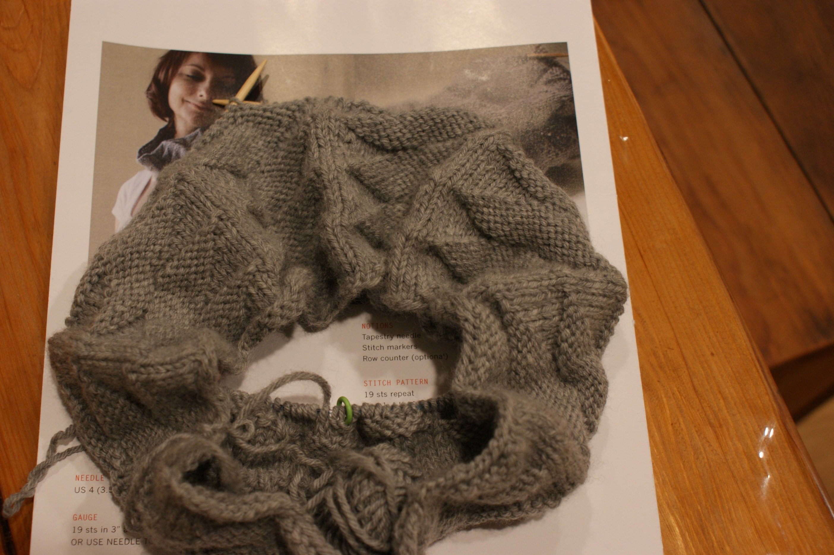 Winter knitting