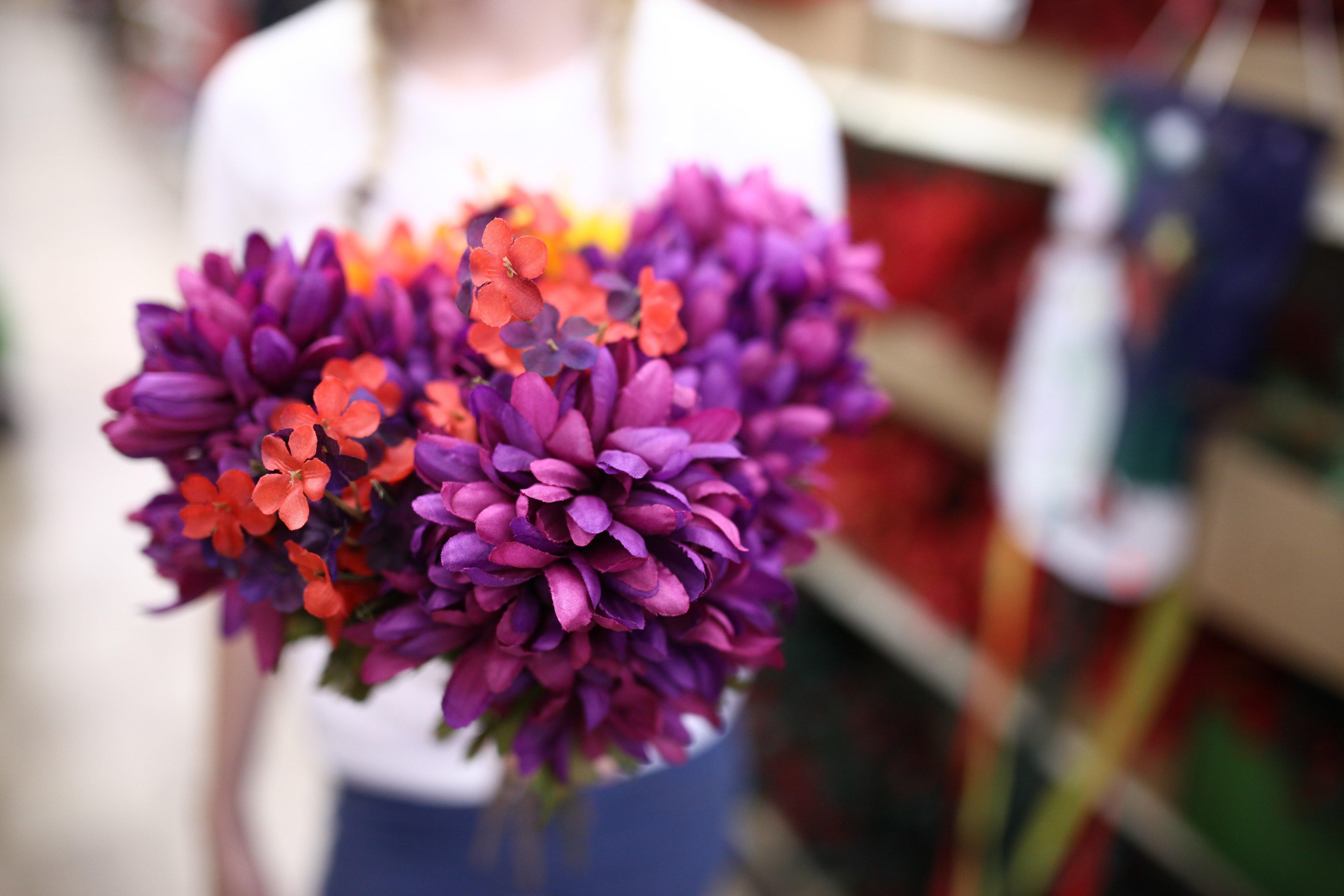 fake flowers @ springgrove