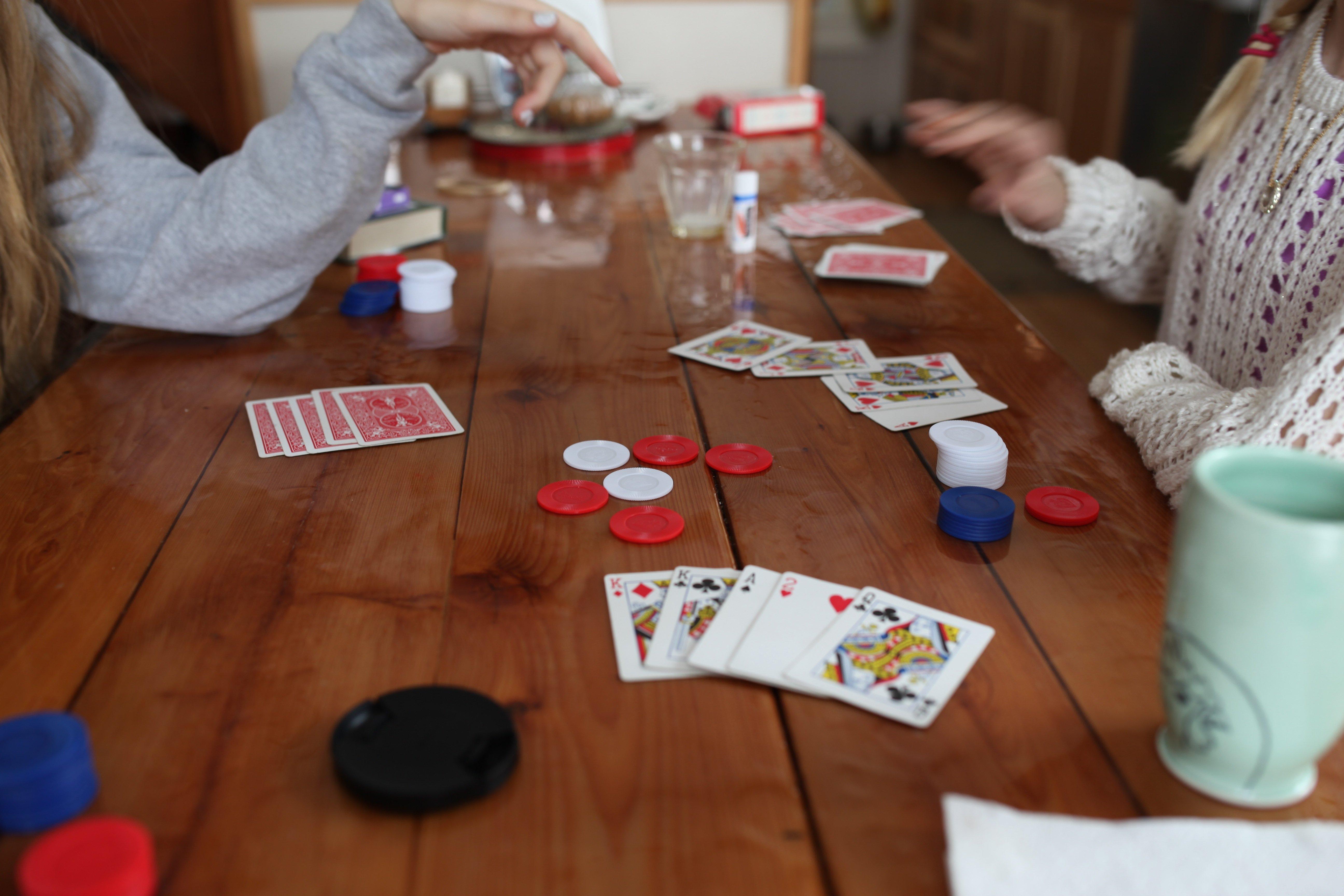 christmas poker #1