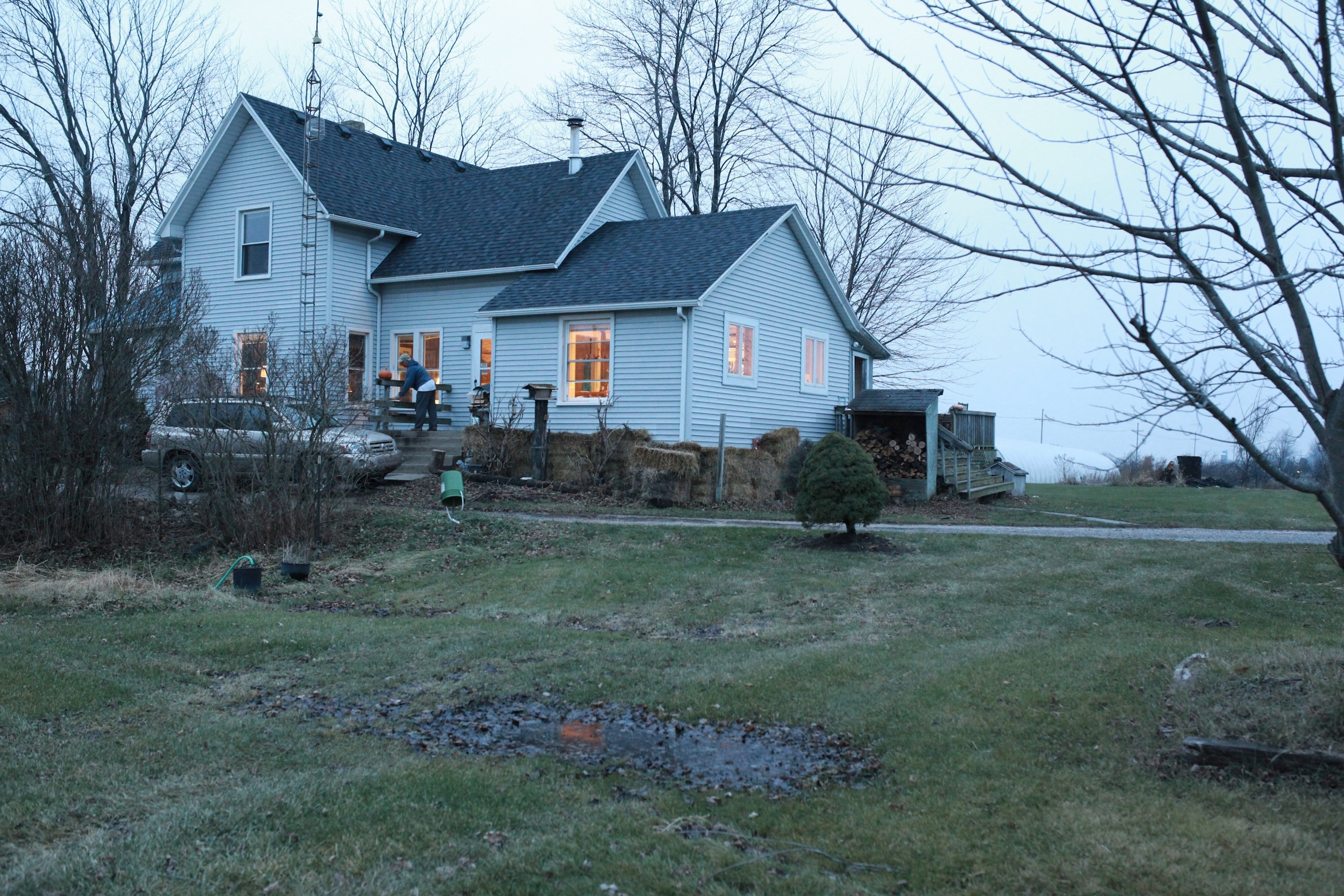 farmhouse in Nov