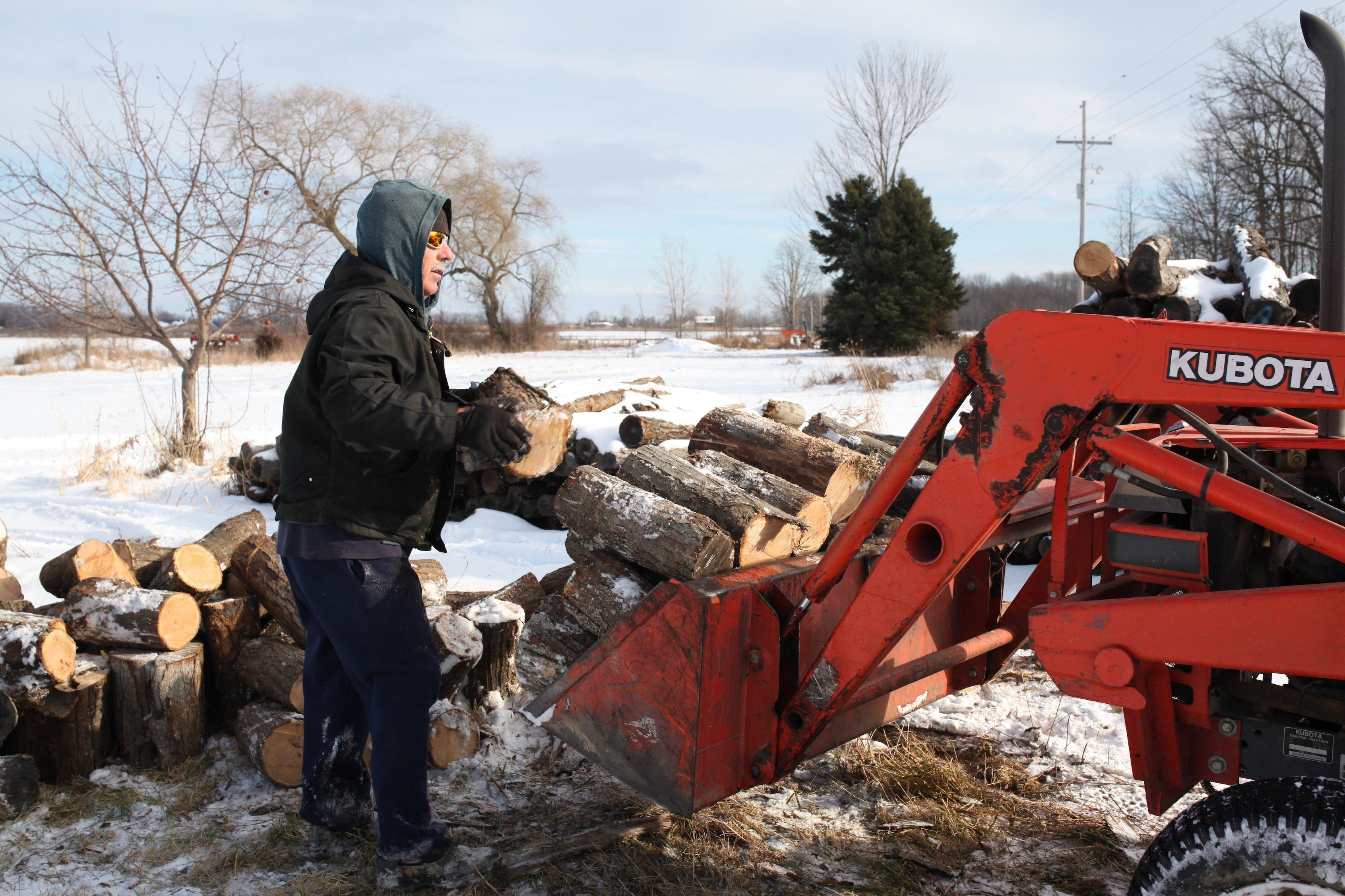 loading firewood #2
