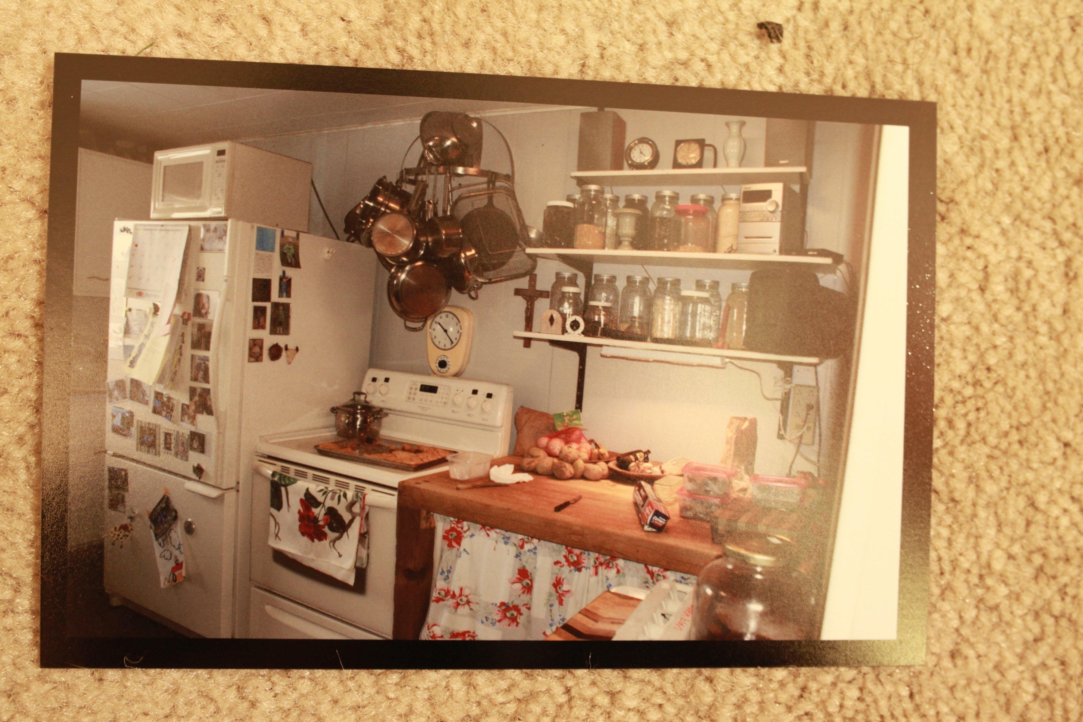 old kitchen w: dog#2