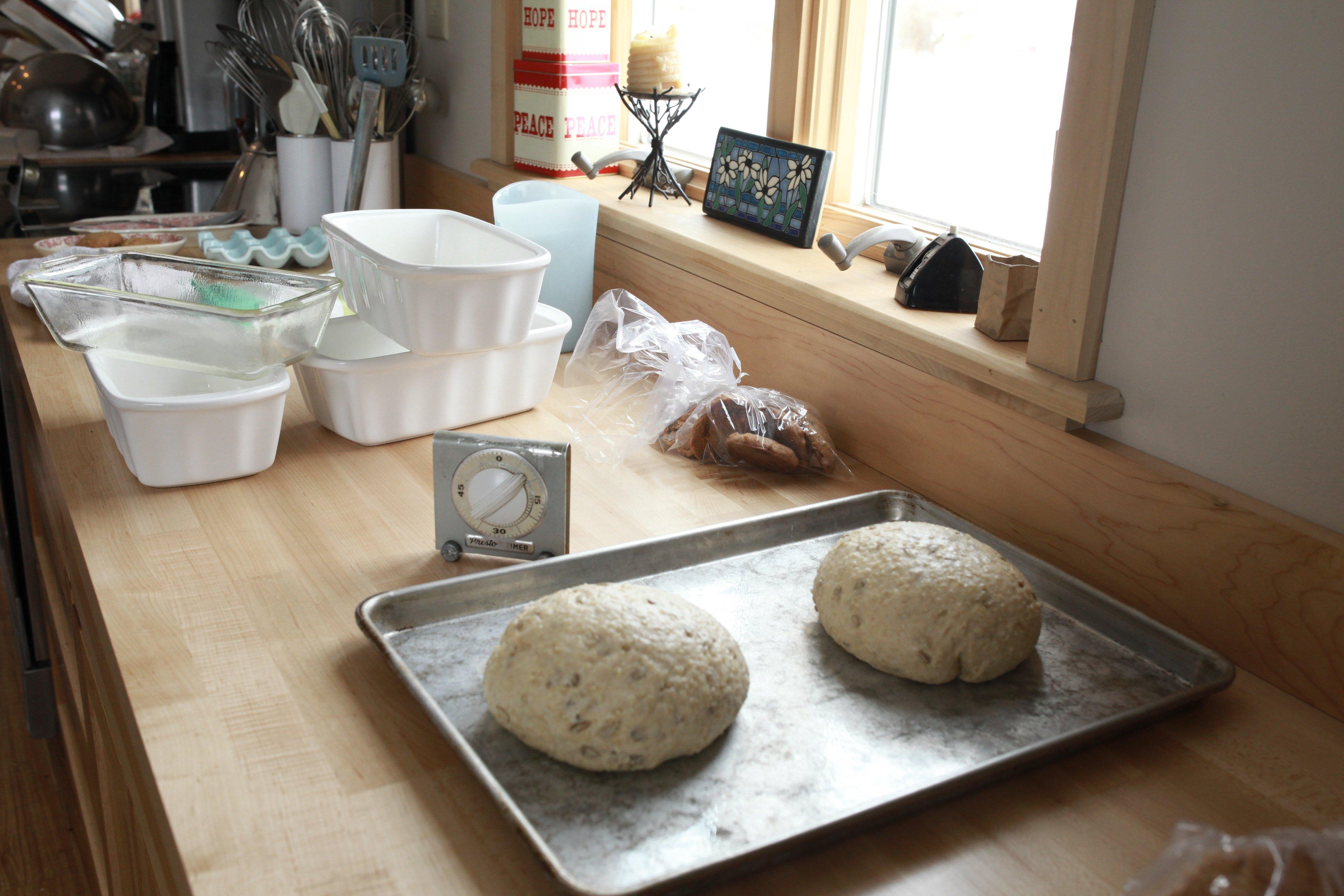 unbaked millet bread far