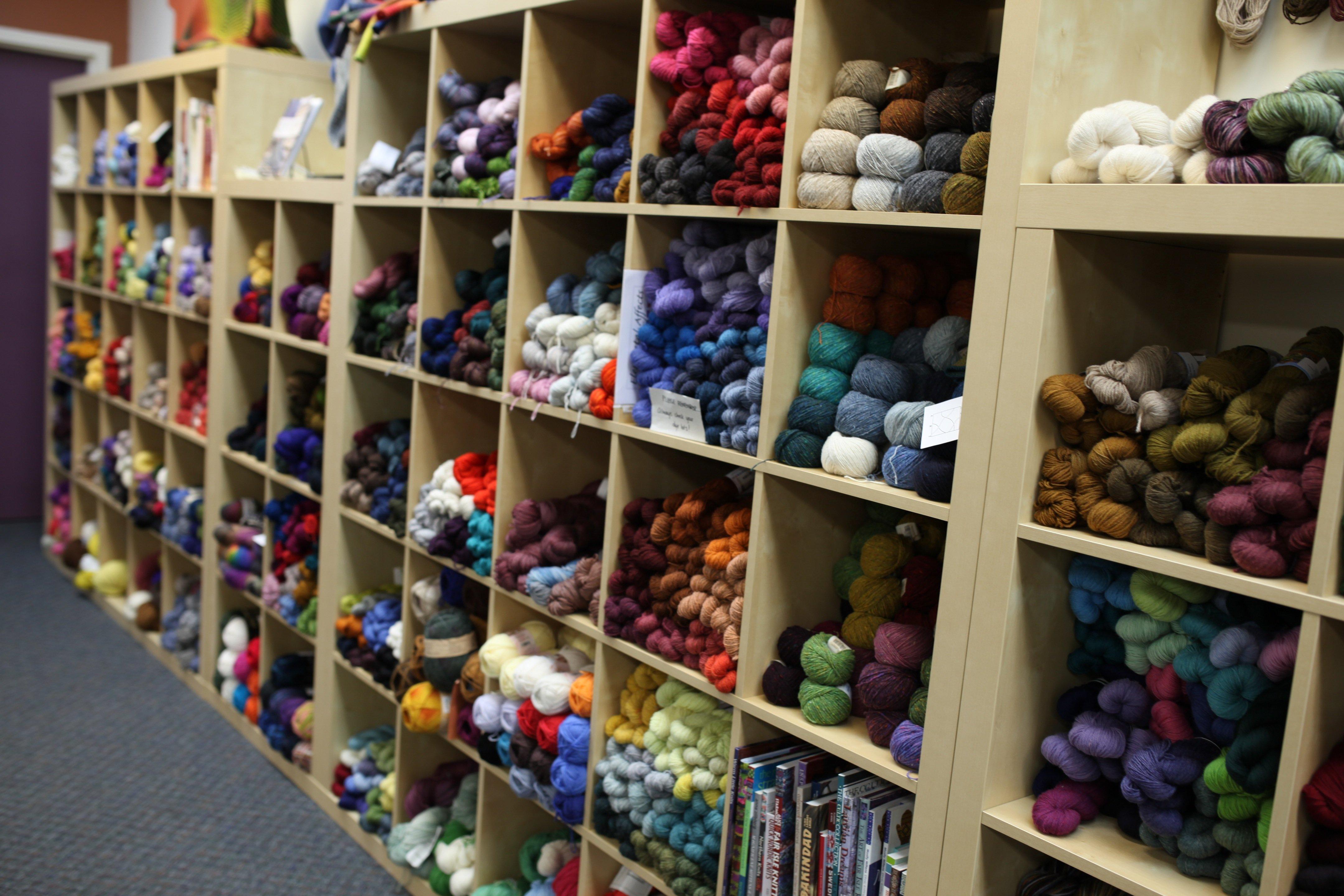 yarn bins