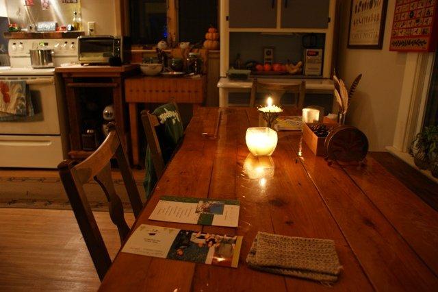 kitchen @ night
