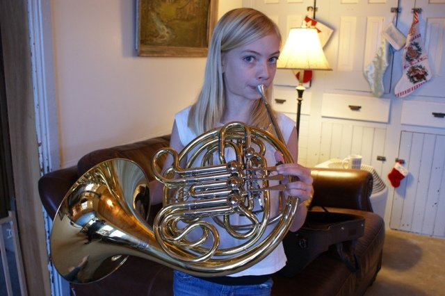 Taylor switches to French Horn