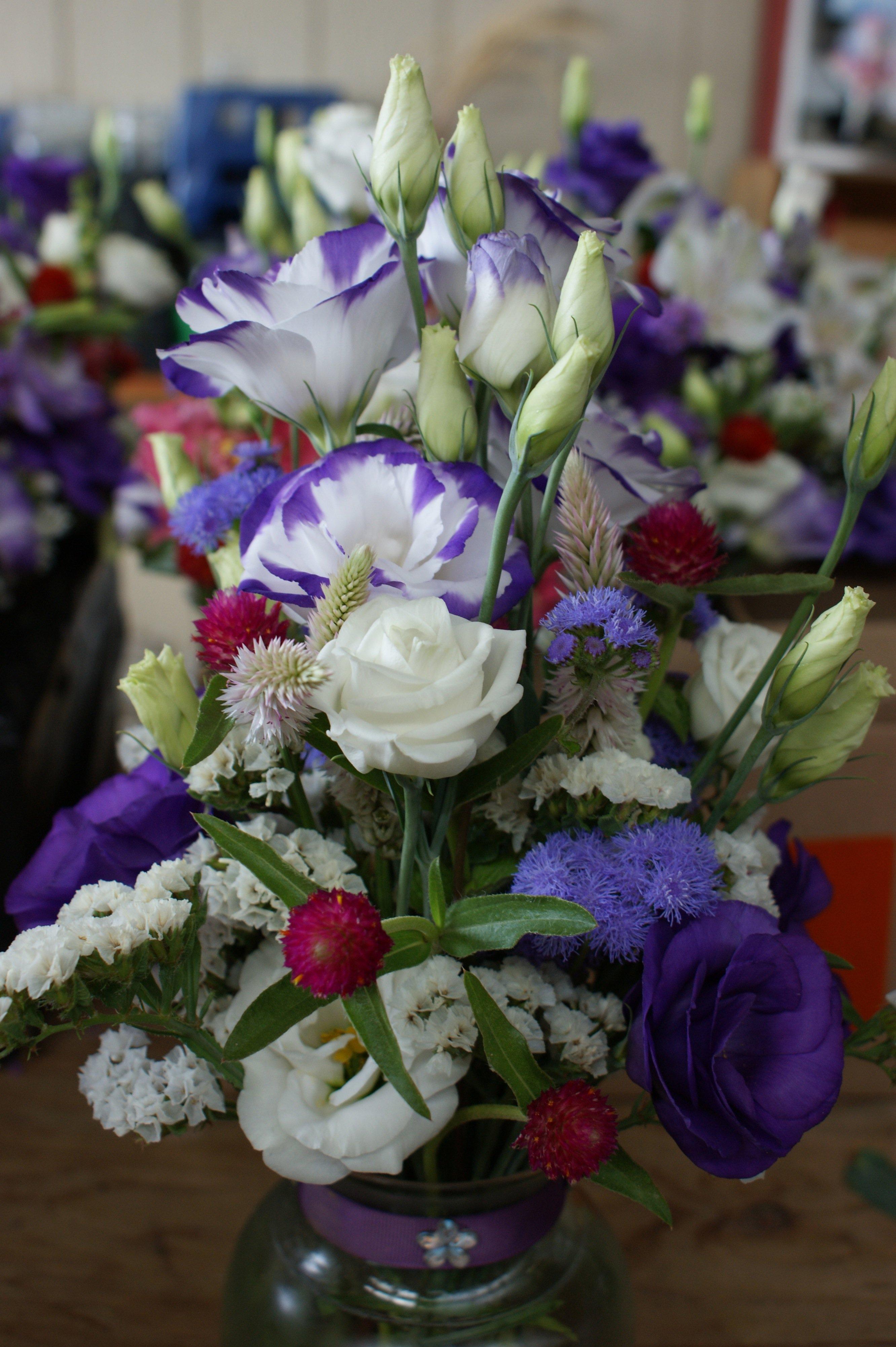 A little purple wedding