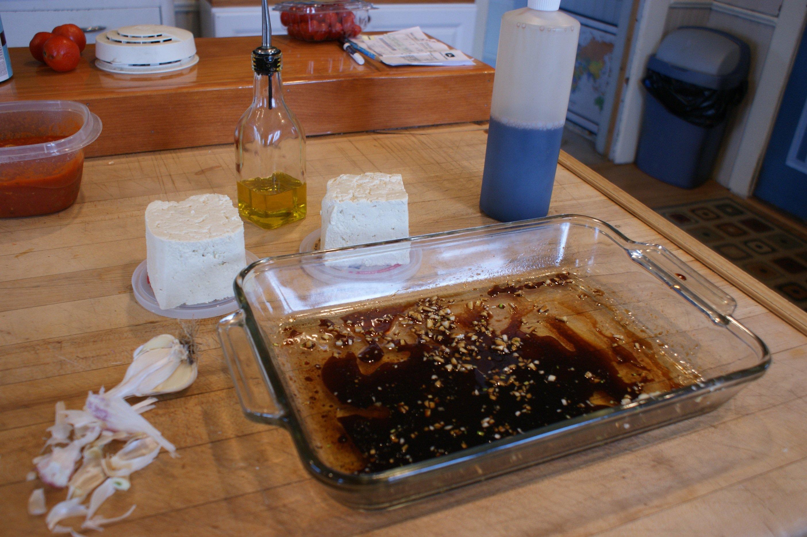 marinate for tofu