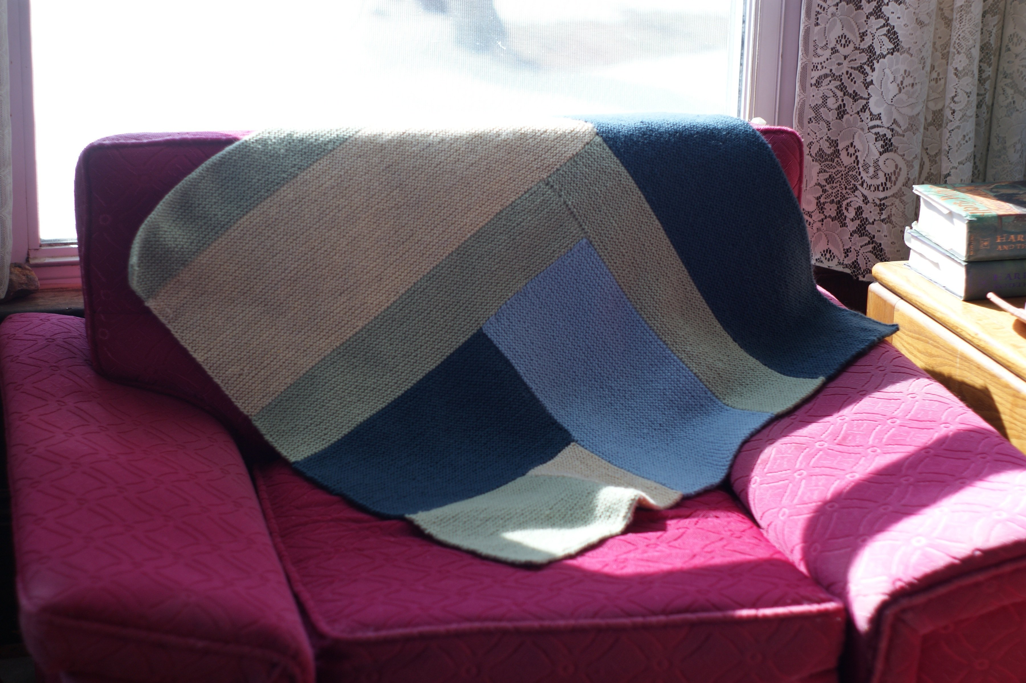 Winter knitting project finished