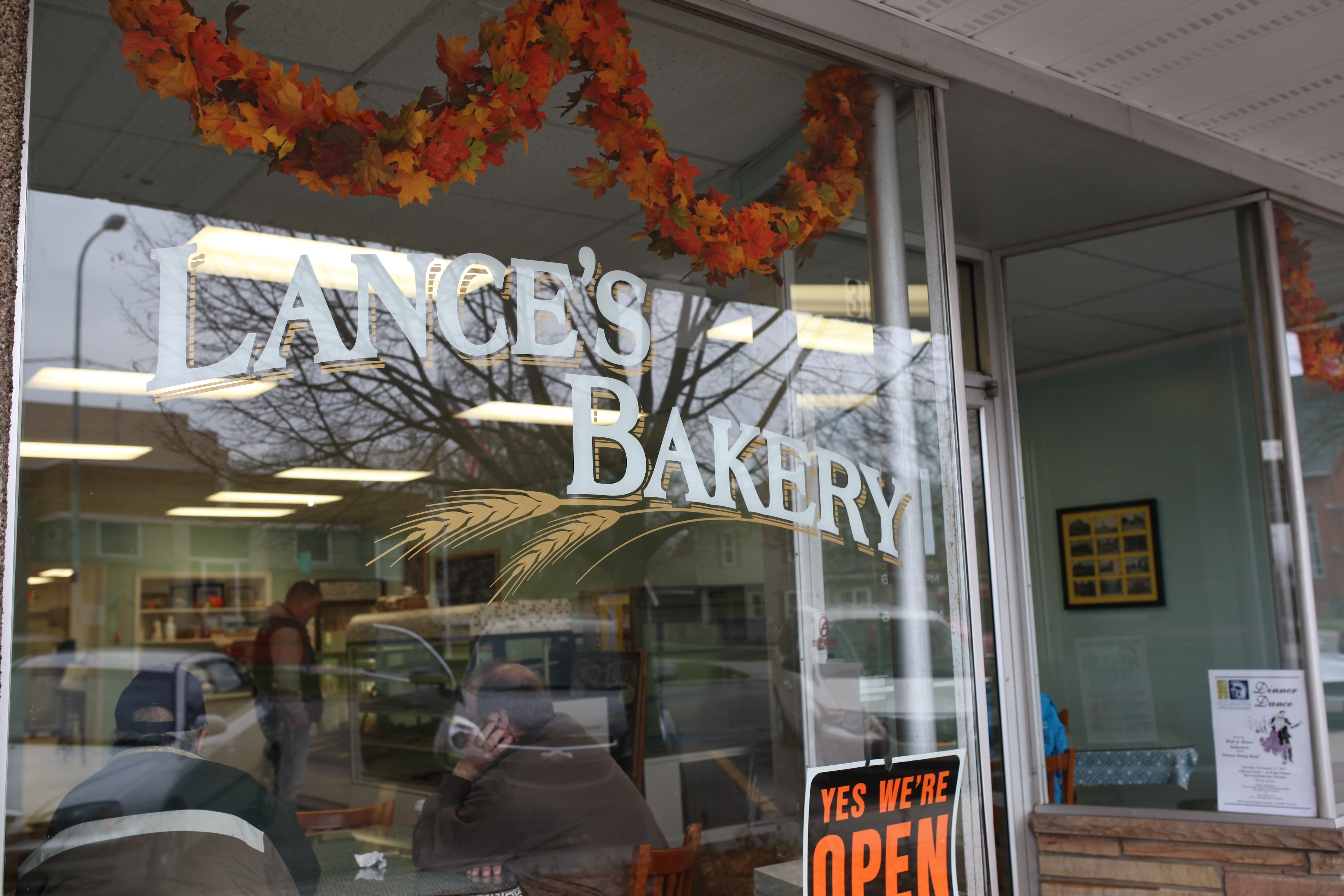 Lance's bakery front
