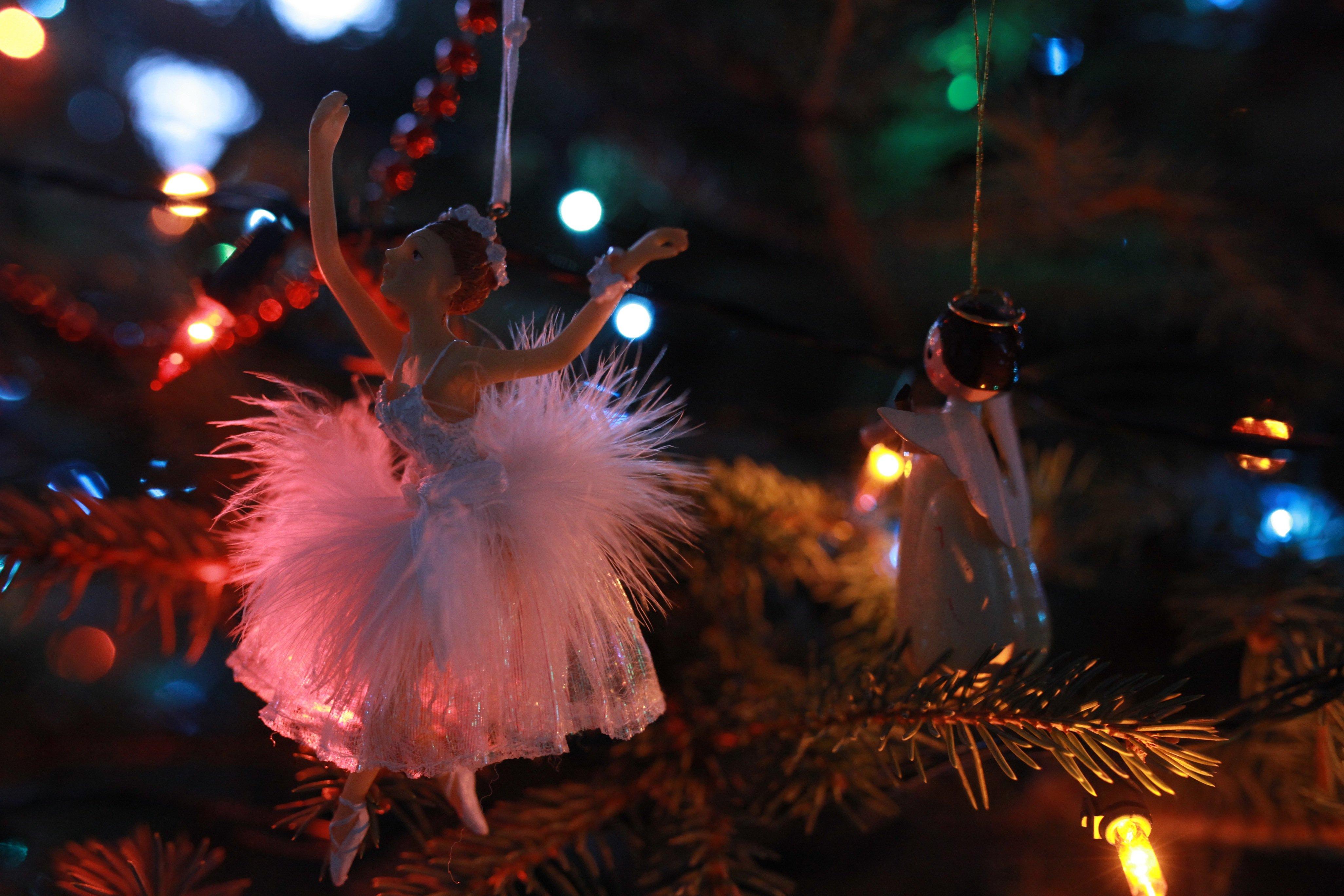 ballerina in tree