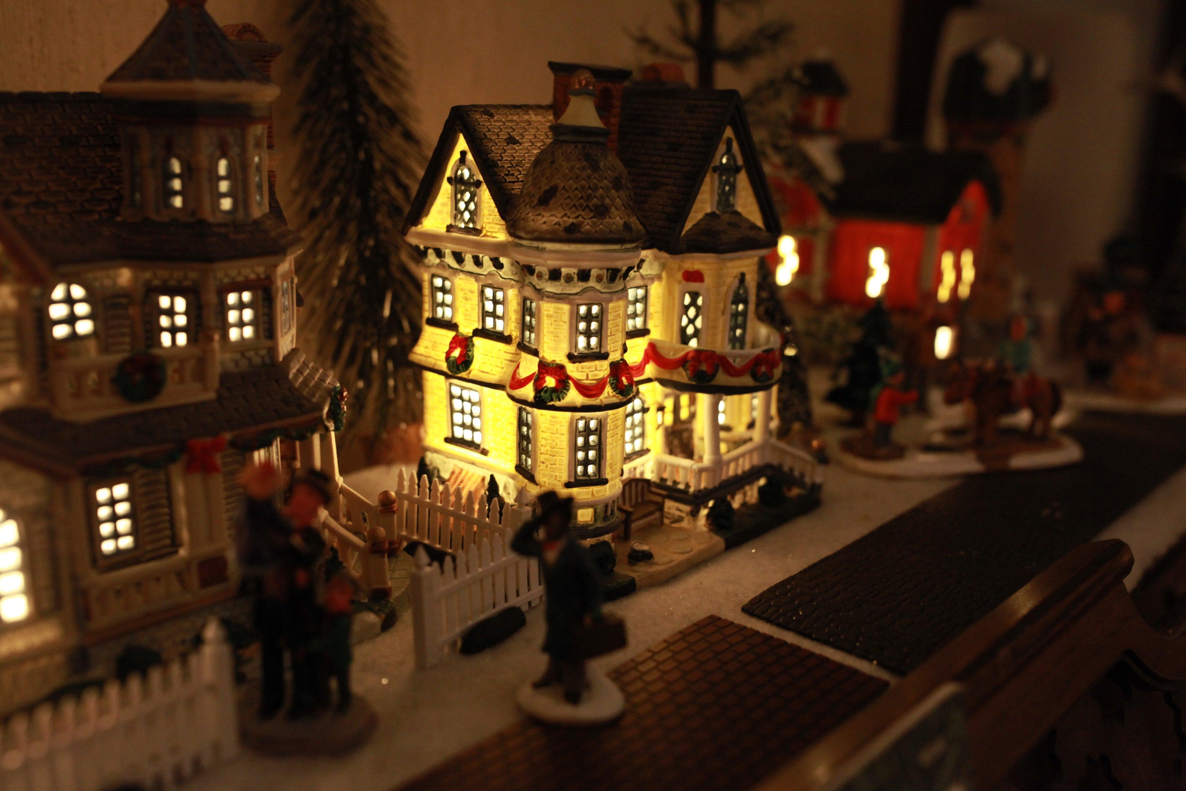 christmas village #1