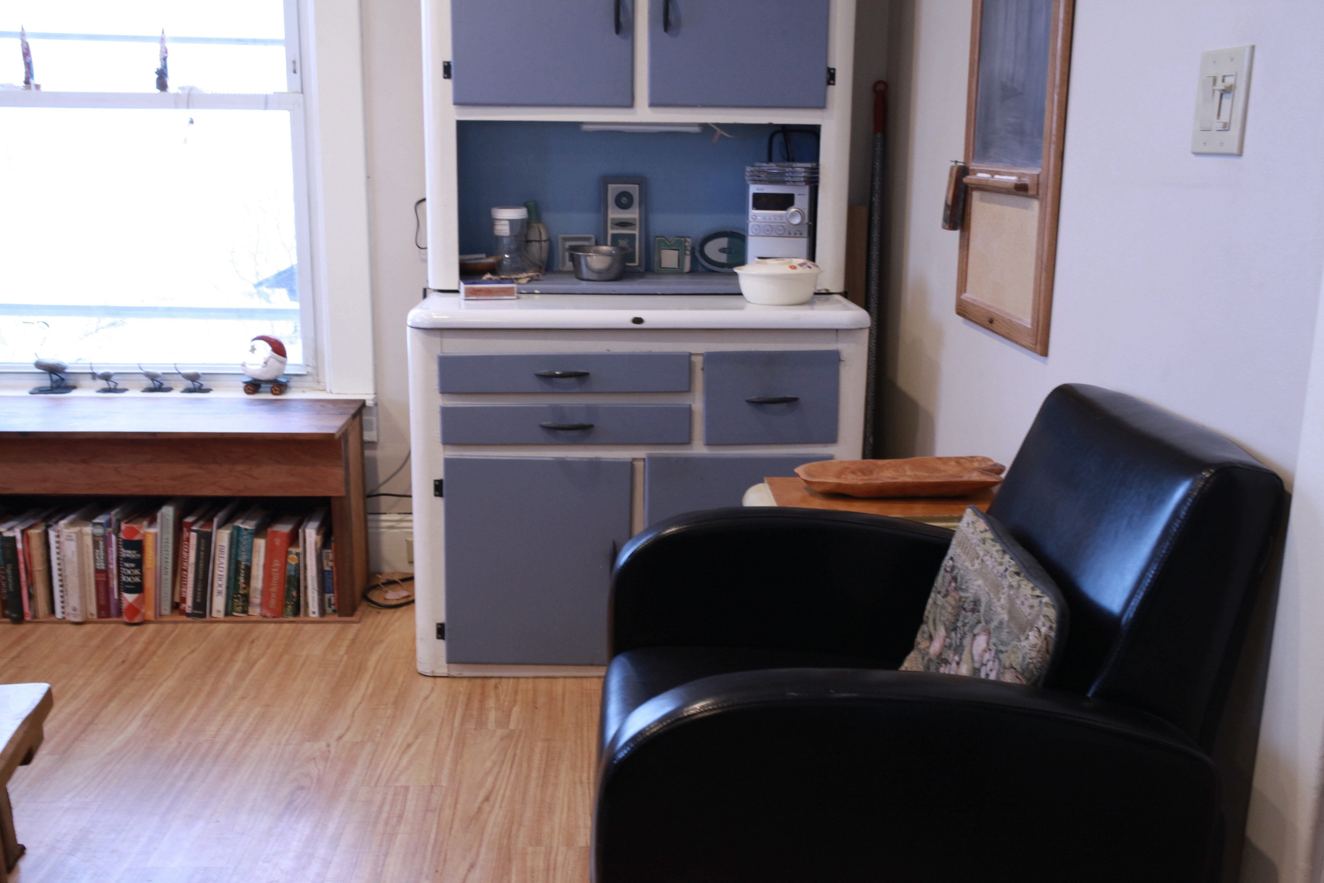 comfortable chair in kitchen