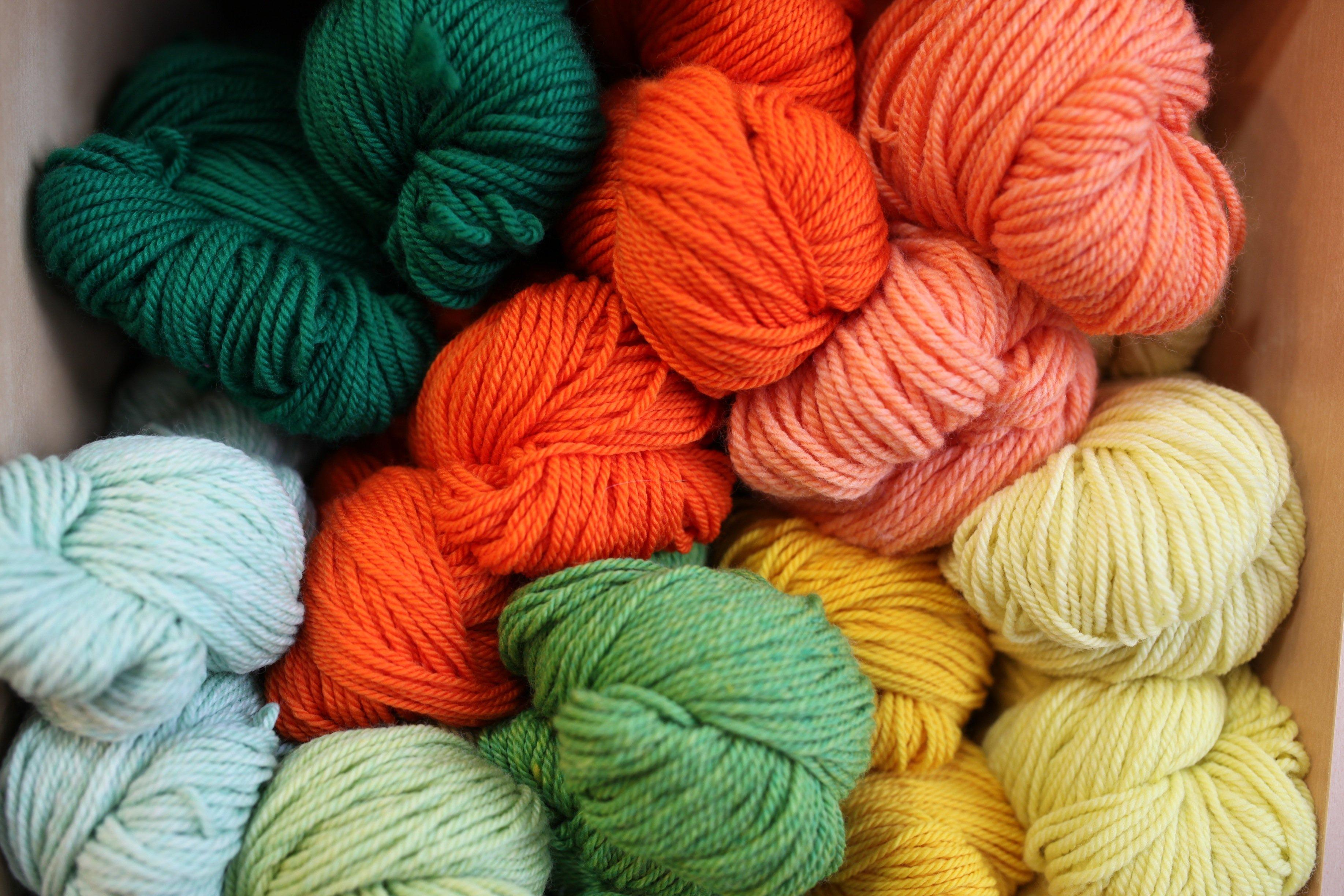 yarn orange