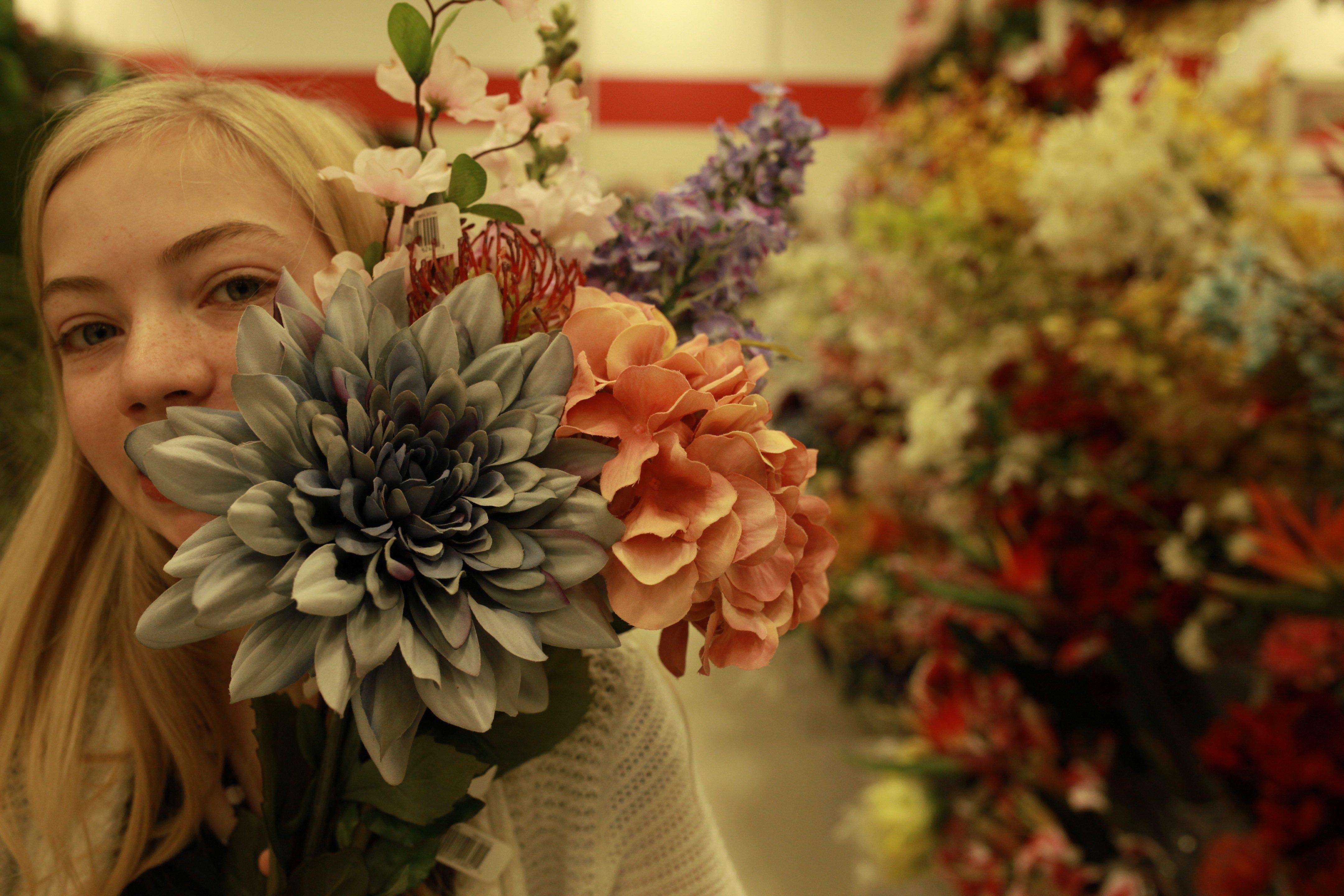 fake flowers in Jan #1