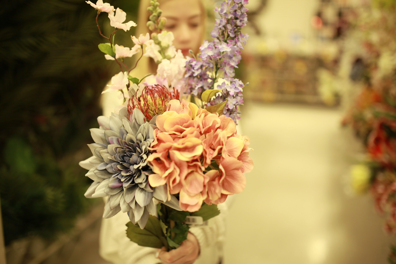 fake flowers in Jan #2