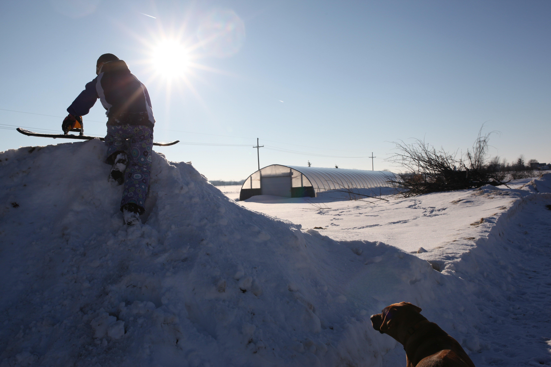 snowboarding #1