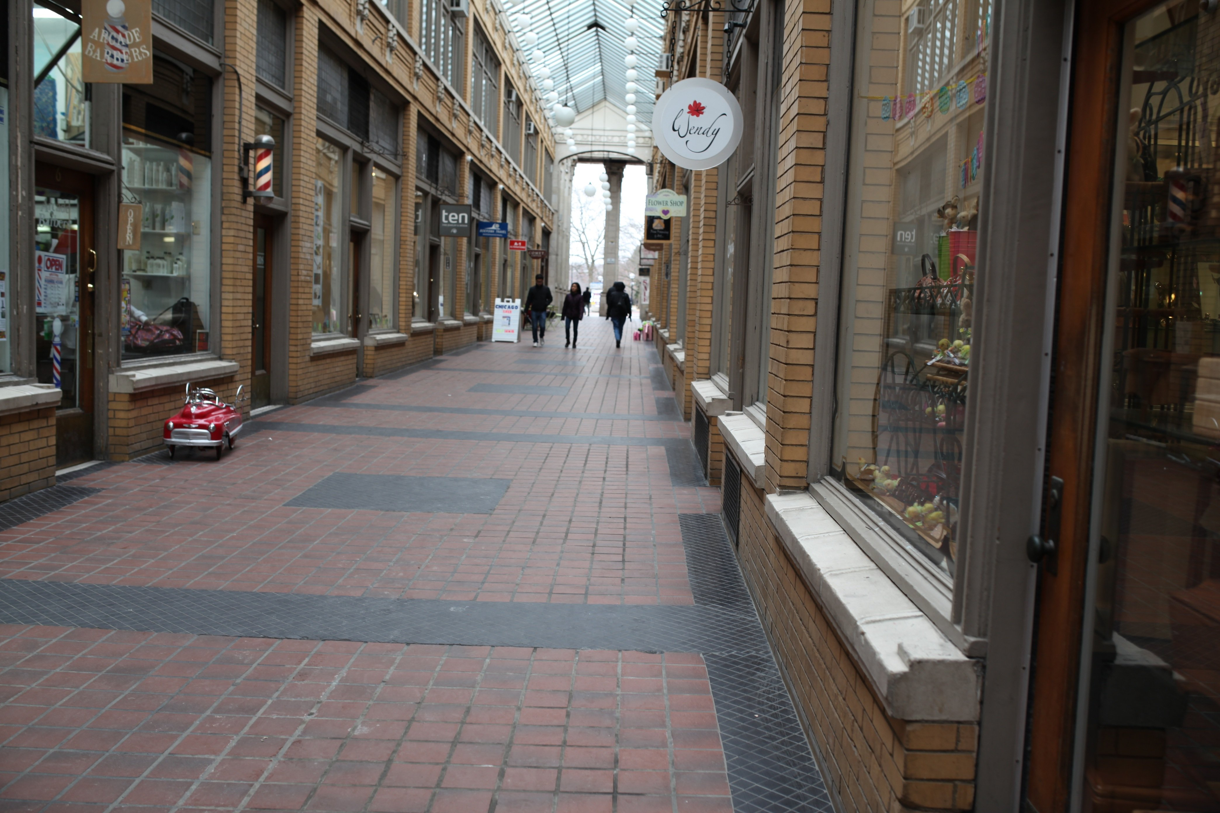 shopping alley in AA