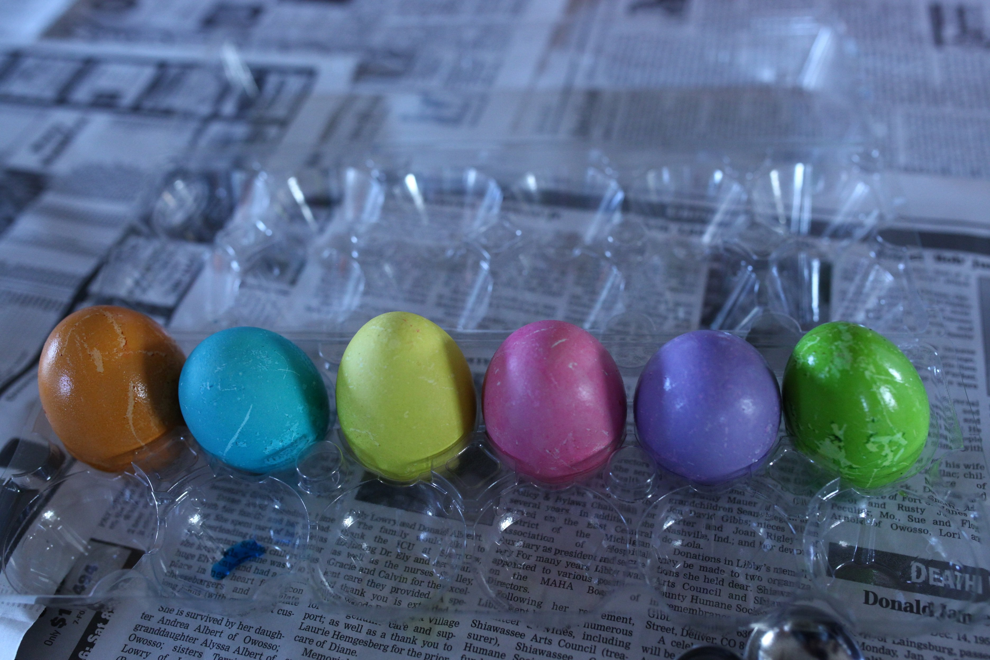 easter eggs done