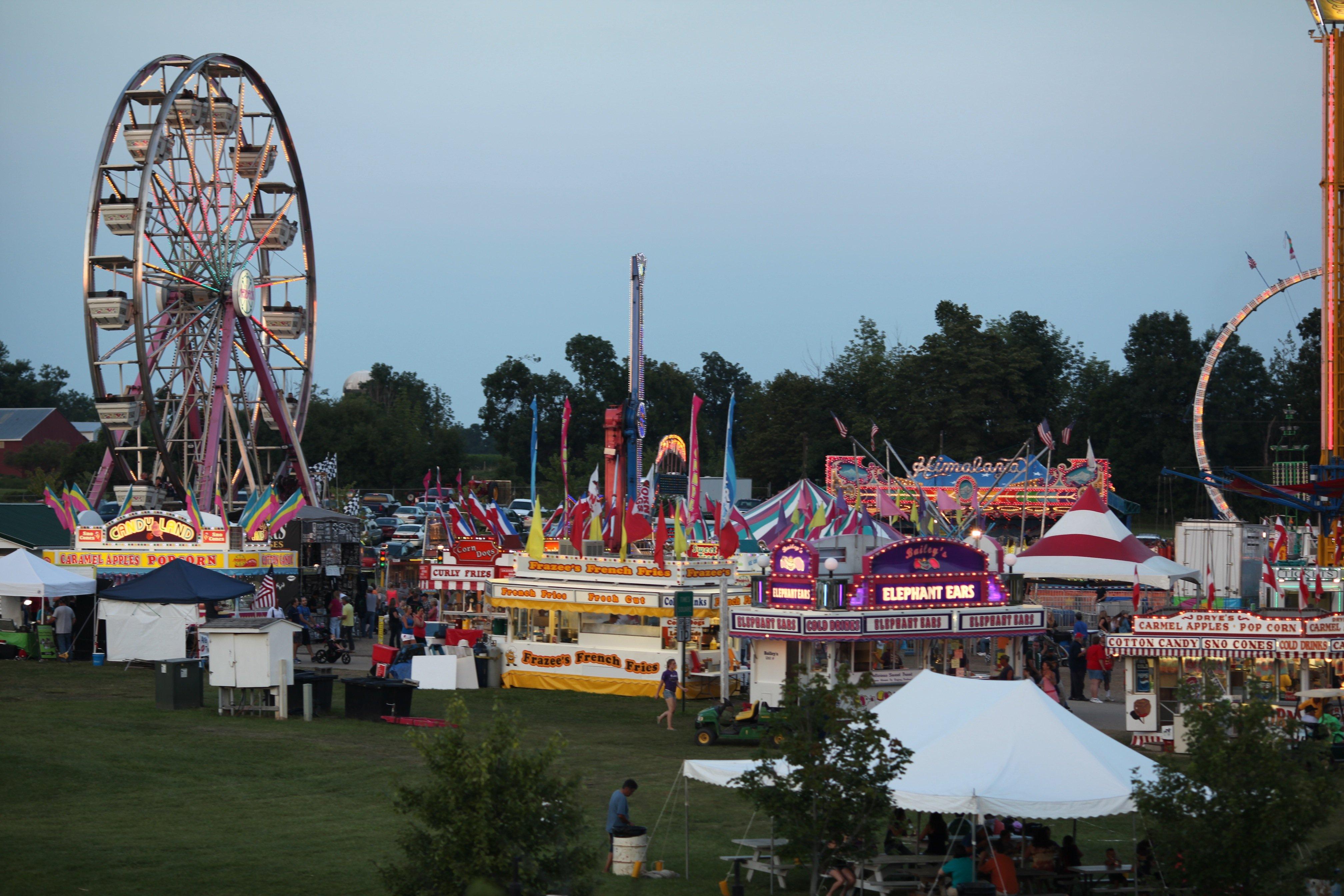 rides at fair